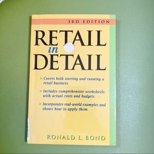 Retail in Detail Small Business Entrepreneur Book